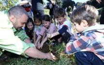 Ajaccio : Un jardin dans la villeà l'initiative de l'ACA en partenariat avec la Ville
