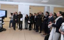Ajaccio : le projet de  pôle consacré au développement économique et numérique présenté au quartier Grossetti