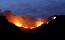 Siscu-Brandu : La progression des flammes en images
