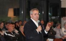 """Xavier Bertrand inaugure à Lumio l'antenne Balagne de """"La Manufacture"""""""