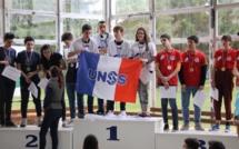 Le Collège Giraud et le lycée Giocante (Bastia) : Champions de France UNSS d'échecs !