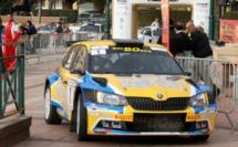 J2 : Santoni toujours en tête du Rallye du pays ajaccien