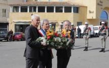 Cérémonie pour la journée Nationale du souvenir à Calvi