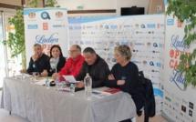 Le Ladies Open de Calvi - Eaux de Zilia monte au filet