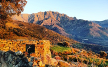 La photo du jour : U Montegrossu au coucher de soleil