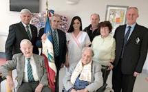 Ajaccio : Jean Narducci, ancien résistant du Vercors, fête ses 99 ans avec ses amis du Train à l'EHPAD de « l'Olivier Bleu »