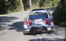 Kris Meeke et Toyota imposent  leur tempo au  shakedown de Sorbo-Ocagnano