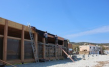 Les établissements de plage de L'Ile-Rousse se mettent aux normes