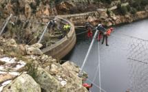 Barrage de Tolla :  Fin du chantier de sécurisation des falaises