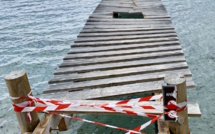 Incivisme : qui a vandalisé le ponton de la plage de Santa Giulia?