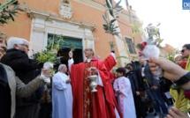 Messe des rameaux : Ajaccio célèbre l'entrée dans la Semaine Sainte