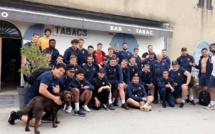 Randonnée de la « Falcunaghja » à Felicetu pour le XV de France U20 avant Furiani