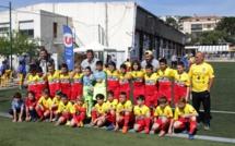 Un départ tonitruant pour le Tournoi du FC Balagne