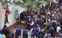 Ils ont brûlé et fusillé un pantin de l'indépendantiste Puigdemont : Corsica Libera condamne