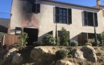 L'isula : incendie dans un hôtel en construction