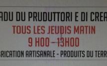 Création à Calvi d'un marché hebdomadaire de producteurs