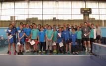 Tennis de table : Les champions de Corse 2019