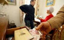 Une personne âgée victime du démarchage à domicile à Sari-Solenzara