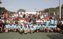 Remise des prix à Calvi des championnats de Corse de Tennis