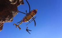 Un touriste grièvement blessé après une chute de 15 mètres dans les calanque de Piana