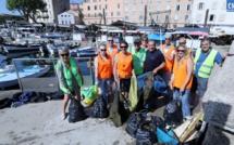 Premier nettoyage du Port Tino-Rossi : les bénévoles font le point en marge d'une opération de plus grande envergure