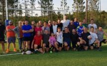 """Rugby : Clément Daguin en visite chez """"Les Moustiques"""""""
