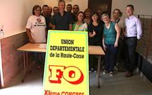 Social : une page se tourne à FO Haute-Corse