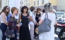 """Savannah : Une minute de """"silence et de colère"""" devant le tribunal d'Ajaccio"""