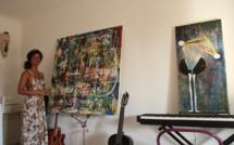 La peinture métisse de Mélissa Galin : L'artiste porto-vecchiaise exposera du 4 au 17 juillet à la galerie Noir et Blanc à Bastia