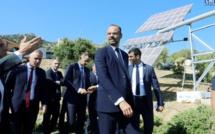 Edouard Philippe promet l'indépendance énergétique de la Corse pour 2050