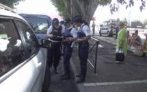 Un contrôle routier ce vendredi en centre-ville à Bastia