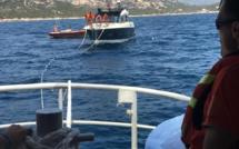 La SNSM de Propriano au secours d'un yacht qui percute un écueil dans le secteur de Murtoli