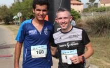 Course hors stade : 10 km de Lecci-Victoires de Simon Gragnic et Désirée Boulanger
