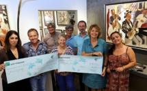 Inseme et la Marie Do reçoivent 8 000€ chacune de l'association Dammi A Manu