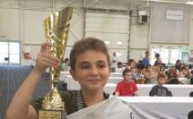 Marc'Andria Maurizzi sacré champion d'Europe U12