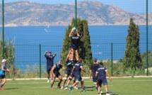 Montpellier-Hérault Rugby a préparé  son match contre le RC Toulon à Lumiu