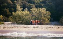 Plage de Cupabia : Une jeune femme blessée après chute à cheval, évacuée à l'hôpital d'Ajaccio