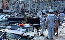 Bastia : U Pinese II a, finalement, coulé dans le Vieux-Port