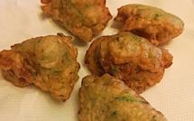 A table : les beignets de courgettes de Françoise