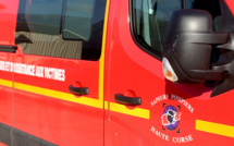 Sortie de route à Borgo : Un blessé léger