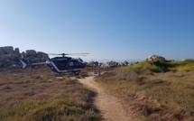 Il chute dans les rochers aux Iles Lavezzi : un homme évacué par hélicoptère