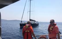 Un voilier en difficulté dans le secteur de Senetosa