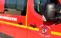 Bastia : Le camping-car s'encastre sous le mini-tunnel. Deux blessés