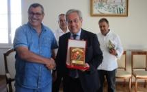 Les dirigeants du Sporting Club Fassi (Maroc) reçus à l'Hôtel de Ville de Calvi
