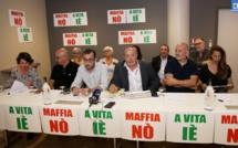 """Le  collectif """"Maffia nò, a vita iè"""" créé à Ajaccio"""