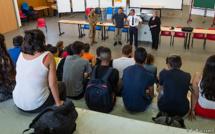 Prunelli-di-Fium'Orbu : remise de brevets d'initiation aéronautique au lycée de la plaine