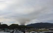Volpajola : Le feu a détruit 20 hectares. Les Canadair bloqués au sol. Le Dash arrive