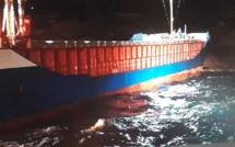 Un cargo s'échoue à l'entrée des Bouches de Bonifacio