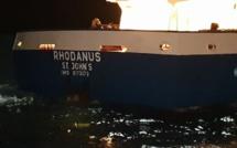 """""""Rhodanus"""" échoué à Cala Longa : les premières images"""