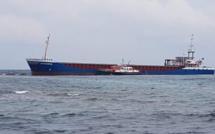 Cargo échoué près de Bonifacio : aucune pollution n'est à déplorer